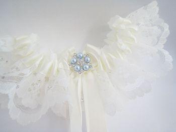 Swarovski Bridal Garter *Coco*