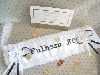 Fulham FC Wedding Garter