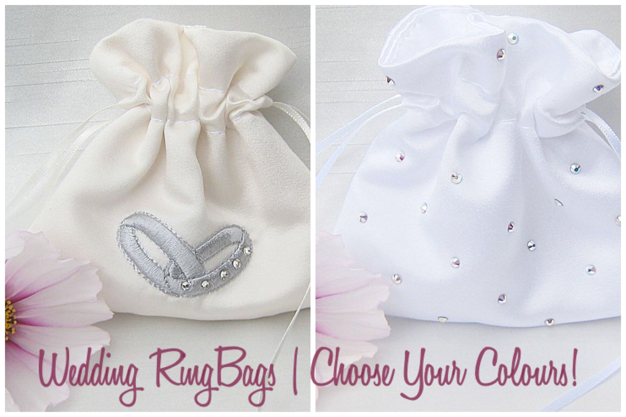 Wedding Ring Bags To Hold The Rings On Wedding Day