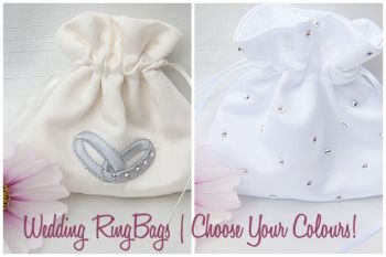 Wedding Ring Bag To Hold Rings On Wedding Day