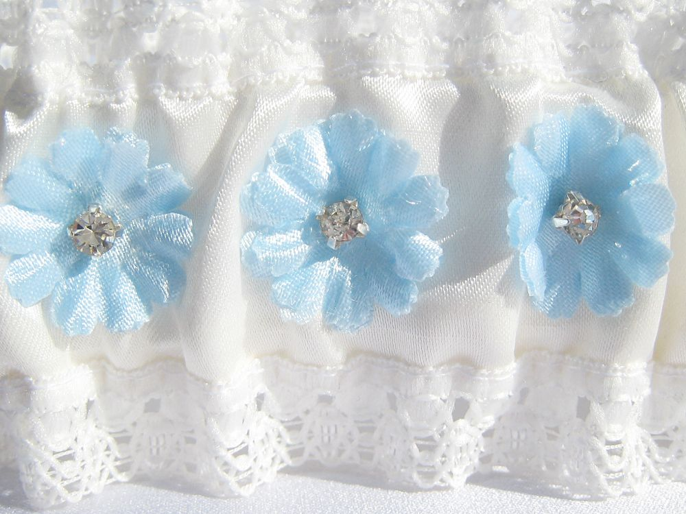 *Flora* Dainty New Wedding Garter £19.99