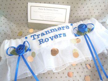 No22 TRANMERE ROVERS Wedding Garters