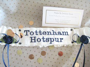 NO15 Tottenham Hotspur Football Garter