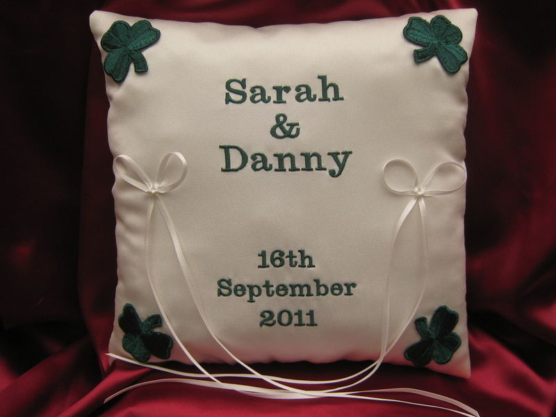 *shamrock cushion