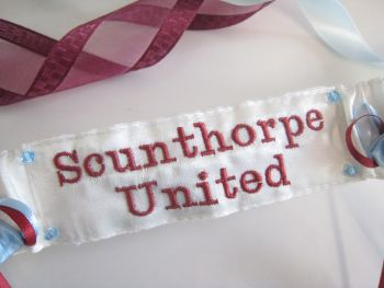 No14 Scunthorpe United Football Garter