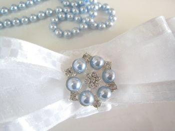 Personalised Wedding Garter   Swarovski Pearls   Unique Garters