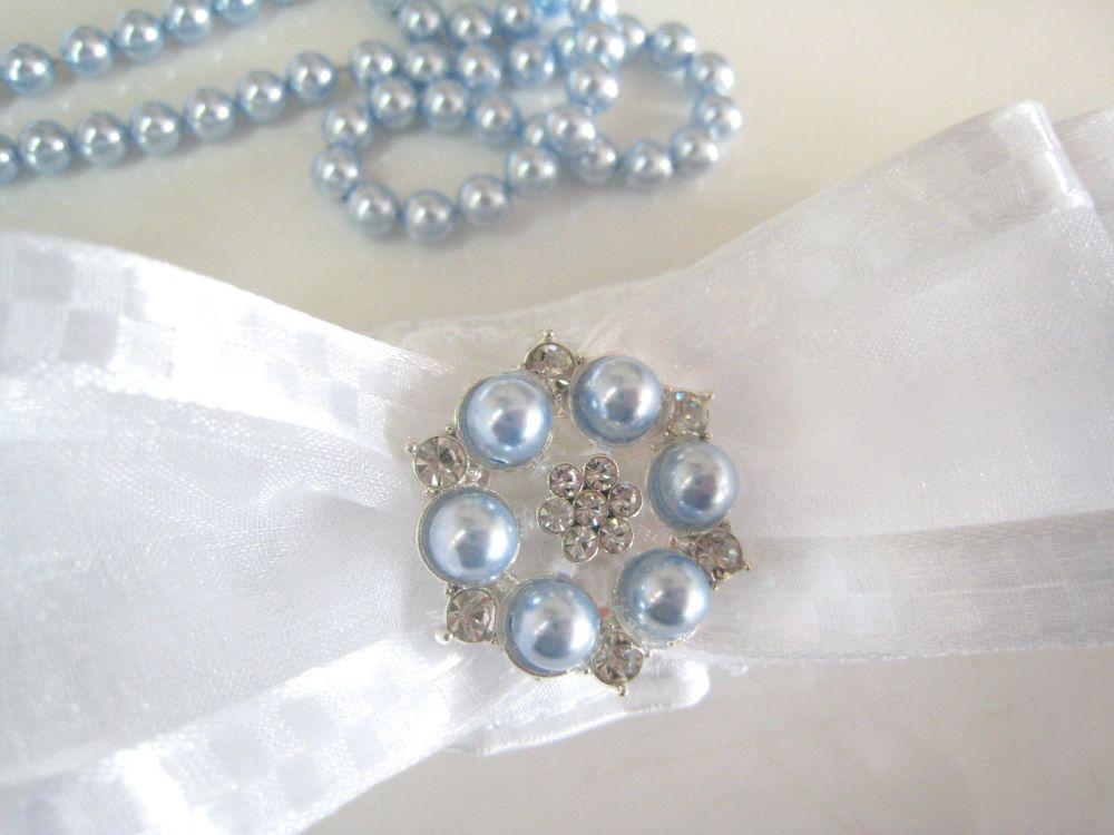 Luxury Garter | Swarovski Pearls & Personalised!