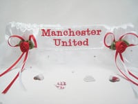 Extra Sparkle Football Garters ANY TEAM £24.99