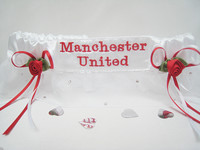 Extra Sparkle Football Garters ANY TEAM £27.99