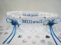 Extra Embroidery  Football Garter £4.00