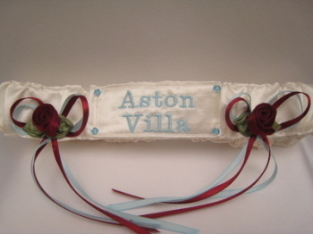 No.4 ASTON VILLA Football Garter