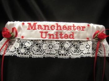 Man Utd Lace Football Wedding Garter