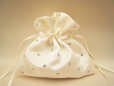 No.0 Swarovski Wedding Ring Bag, Pouch Bag For Rings