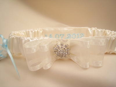 Add The Date or Name To Your Garter