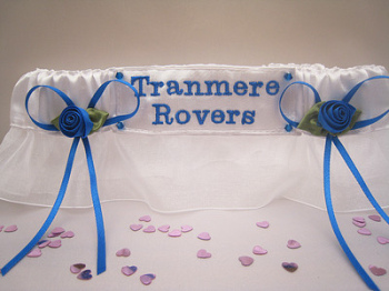 No22 TRANMERE ROVERS Wedding Garters