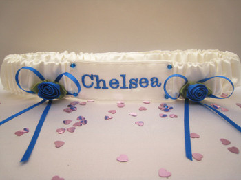 No.7 CHELSEA Football Wedding Garter