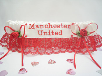 Manchester United Garter Or Choose Your Favourite Team