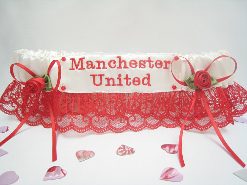No10 Manchester United Garter Or Choose Your Favourite Team