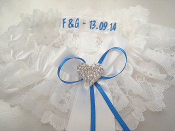Add Initials + Date To Garter