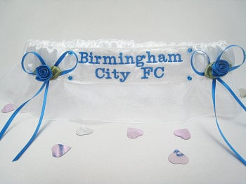 No.4   Birmingham City FC Football Garter