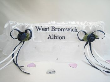 NO.4 WEST BROMWICH ALBION Extra Sparkle Football Garter