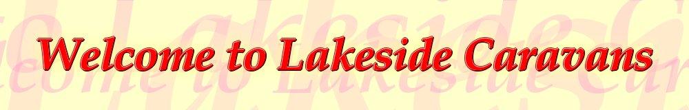 lakesidecaravans, site logo.