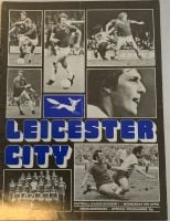 Leicester City v Middlesbrough 1974/75 football programme
