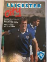 Leicester City v Sheffield Wednesday  1982/83 football programme