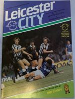Leicester City v Coventry City  1984/85 football programme