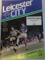 Leicester City v Sheffield Wednesday  1984/85 football programme