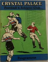 Crystal Palace v Aldershot 1960/61Football Programme