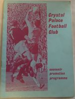 Crystal Palace  v Swindon Town 1967/68 Promotion Souvenir programme  Football Programme