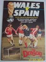 Wales International Football Programmes