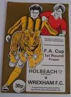 FA Cup football programmes - Non League Main Draw