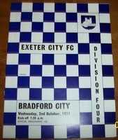 Exeter City 1970's