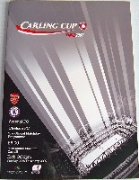 League Cup Football Programmes