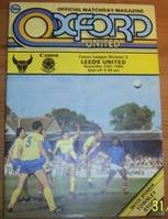 Oxford United 1980's