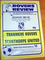 Tranmere Rovers 1980's