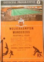 Wolves v Portsmouth 1957/58 FA Cup football programme