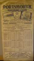 Portsmouth v Newcastle 1951/52 FA Cup 6th round football programme