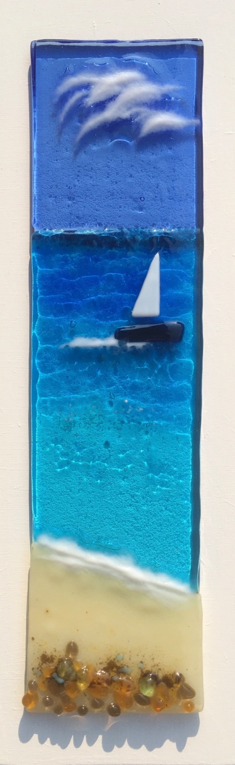 Perfect Day for a Sail.  30cm x 10cm