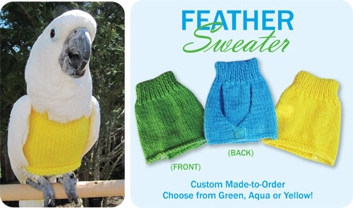 FEATHER SWEATER (EXTRA WIDE)