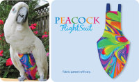 PEACOCK FLIGHTSUIT (LARGE)