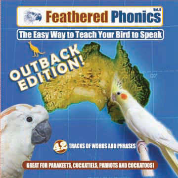 FEATHERED PHONICS AUSTRALIAN OUTBACK EDITION CD VOL 6