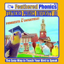 FEATHERED PHONICS PARAKEET AND COCKATIEL UNIVERSITY CD VOL 9