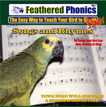 FEATHERED PHONICS TEACH YOUR BIRD TO SING CD VOL 2