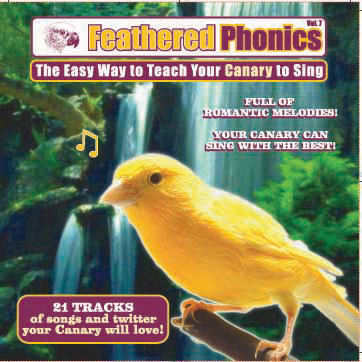 FEATHERED PHONICS TEACH YOUR CANARY TO SING CD VOL 7