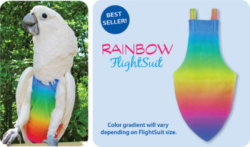 RAINBOW FLIGHTSUIT (SMALL)