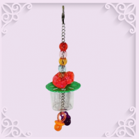 CUP WITH BEADS