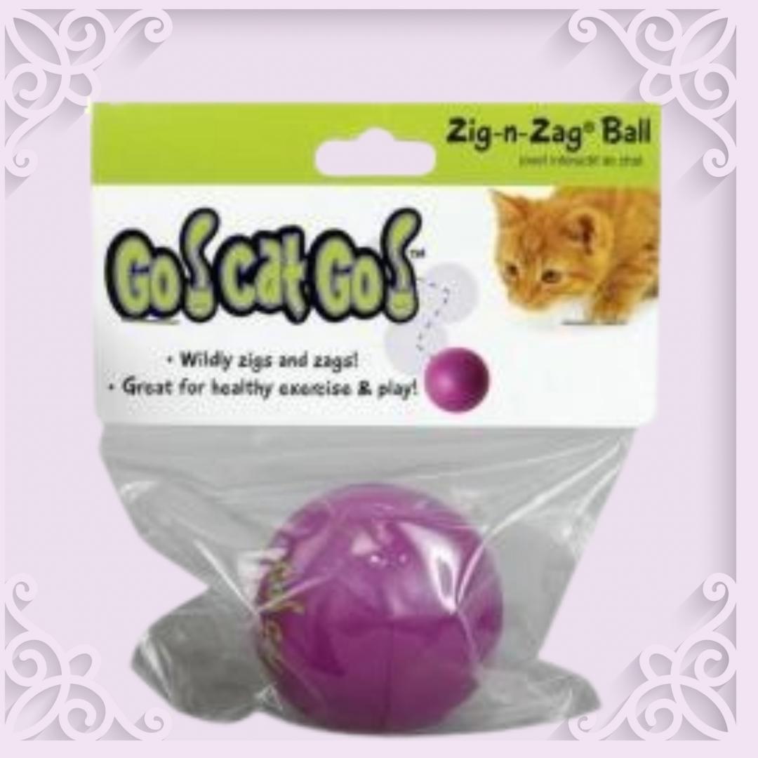 ZIG ZAG CAT TOY